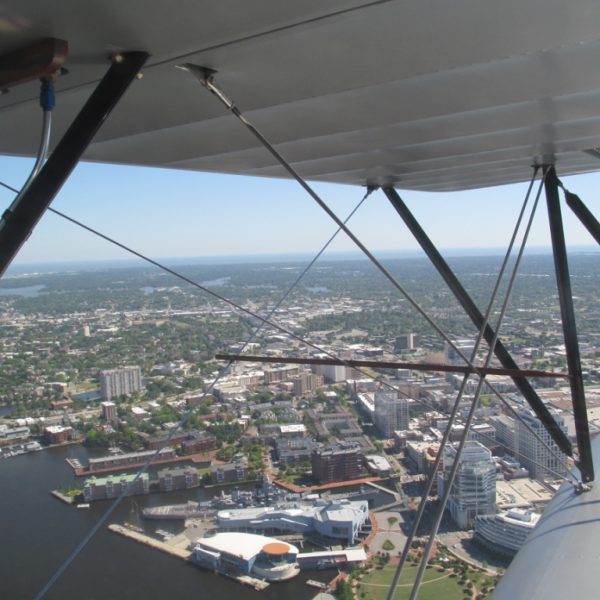 Old Dominion Biplane Rides - Downtown Norfolk