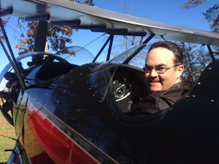Old Dominion Biplane Rides - Andrew